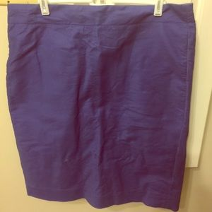 Not blue Not purple J Crew Skirt